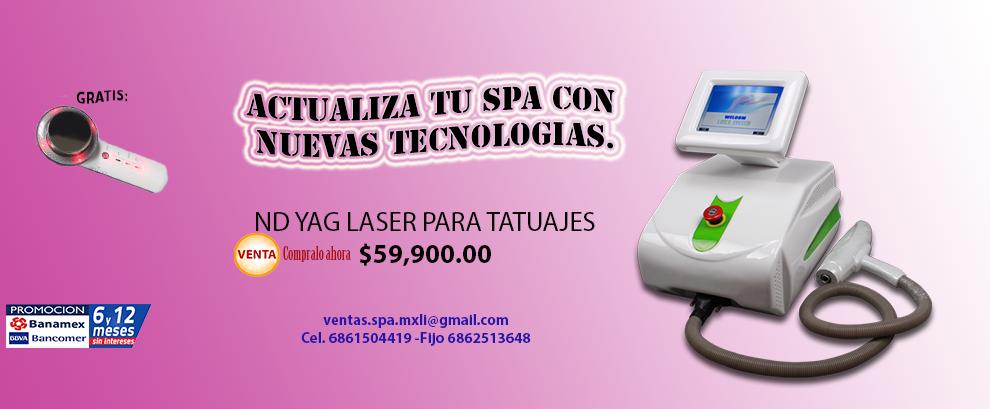 Primera promocion del 2017 Yag Laser